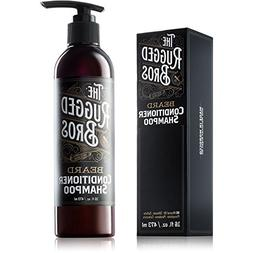 3-in-1 Beard Conditioner, Grooming Shampoo, and Face Wash by