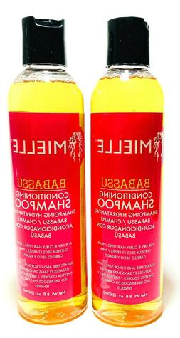 2 Mielle Babassu Organic Shampoo Conditioning For Dry Curly
