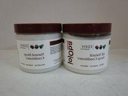 2 EDEN BODYWORKS NATURAL DEEP CONDITIONER JOJOBA MONOI 16 FL