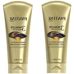 2 Pack Pantene 3 Minute Miracle Repair & Protect Deep Condit