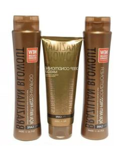 3 pack blowout anti frizz shampoo conditioner