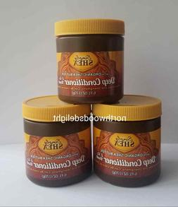 3 Pack Simply Shea W/ Organic Shea Butter Deep Conditioner &