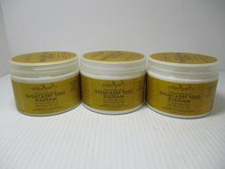 3 SHEA MOISTURE RAW SHEA BUTTER DEEP TREATMENT MASQUE 12 OZ
