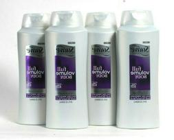 4 Bottles Suave Professionals 28 Oz Full Volume 24 Hour Body