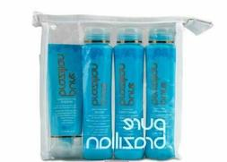 Pure Brazilian 4 Piece Travel Kit~Shampoo~Conditioner~Serum