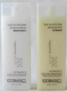 GIOVANNI COSMETICS - Eco Chic Smooth as Silk Shampoo & Condi