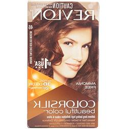 Revlon Colorsilk Haircolor, Medium Golden Chestnut Brown, 1-