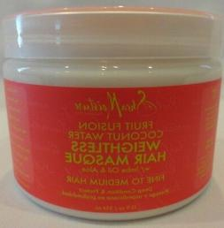 Shea Moisture Fruit Fusion Coconut Water Weightless Hair Mas