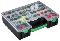Stack-On DCOG-10 Deluxe Deep Cup Parts Storage Organizer wit
