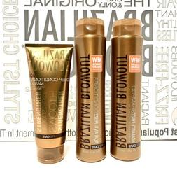Brazilian Blowout Aftercare Kit Shampoo, Conditioner, and Ma