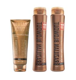 Brazilian Blowout Anti-Frizz Shampoo + Conditioner + Deep Co