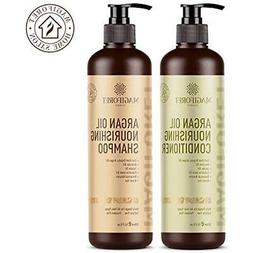 Argan Oil Shampoo and Conditioner Set  - MagiForet Organic S