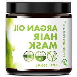 Argan Oil Hair Mask Deep Conditioner - 8 oz - Green Tea, Joj