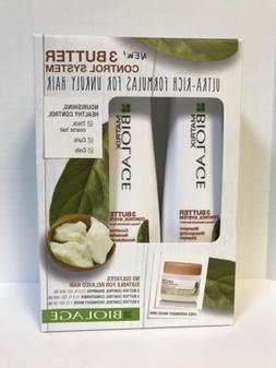 MATRIX BIOLAGE 3 BUTTER CONTROL SYSTEM SHAMPOO,CONDITIONER,
