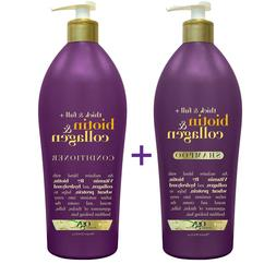 🔥 OGX Biotin & Collagen Shampoo or Conditioner Thick & Fu