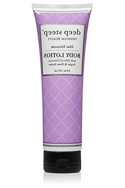 Deep Steep Body Lotion, Lilac Blossom, 8 Ounce