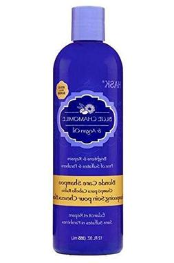 HASK Blue Chamomile & Argan Oil Blonde Care Shampoo 12oz
