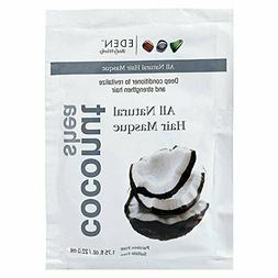 Eden Coconut Shea All Natural Hair Masque Treatment Deep Con