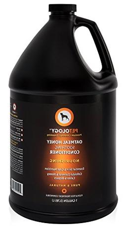 Conditioner For Dogs - Colloidal Oatmeal & Honey Nourishes &