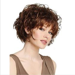"Cinhent 30CM /12"" Women Cosplay Party Synthetic Hair Wig Sho"