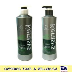 Deep Cleansing Scalp Care Shampoo / Conditioner 600ml +Free