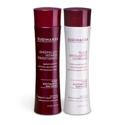 Keranique Deep Hydrating Shampoo and Conditioner Set for Hai