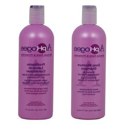 ApHogee Deep Moisture Shampoo&ProVitamin Leave-in Conditione