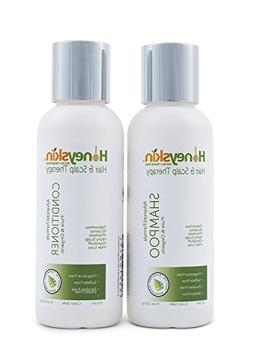 Hair Growth Shampoo and Conditioner Set - with Manuka Honey,