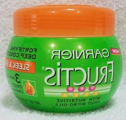 Garnier Fructis Sleek & Shine Fortifying Deep Conditioner 3