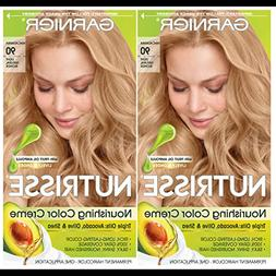 Garnier Hair Color Nutrisse Nourishing Creme, 90 Light Natur