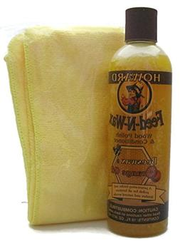 Howard Feed-N-Wax All Natural Wood Polish and Conditioner wi
