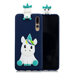 DAMONDY Huawei P20 Pro Case, Huawei P20 Pro Cute Cartoon Cas