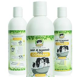Natural Hypoallergenic Oatmeal Dog Shampoo: Itchy Dry Sensit