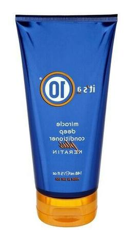 Its a 10 Miracle Deep Conditioner Plus Keratin 5 oz New