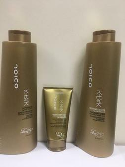 JOICO K-PAK SHAMPOO AND CONDITIONER 33.8oz with DEEP-PENETRA