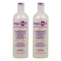 "ApHogee Keratin 2 Minute Reconstructor 16oz""Pack of 2"""