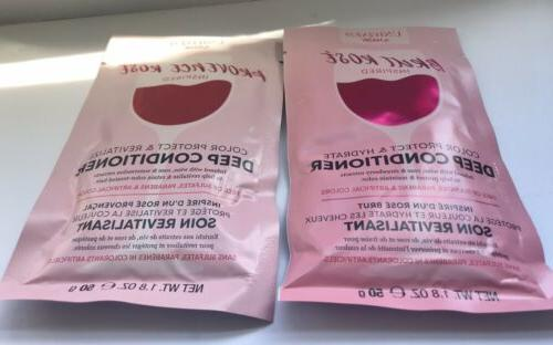 2 Conditioner Hair Packs 1.8oz Each Rosé & Provence
