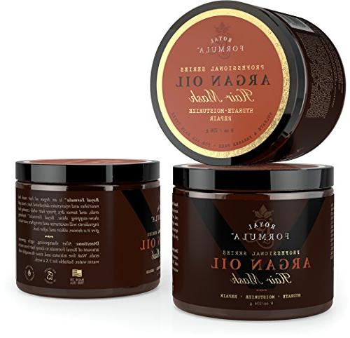 Argan Oil Hair 100% ORGANIC Argan Almond Conditioner, Hydrating Hair Color Treated Hair - Stimulates Oz