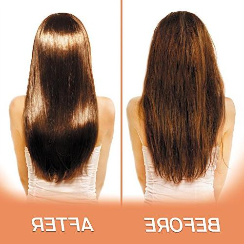 Argan Hair - Sulfate Free for Dry or Damaged Organic Jojoba Oil Vera Collagen and