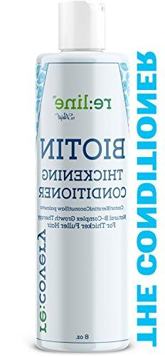 Biotin Thickening Fine Treatment Treated Hair Sulfate Free With Castor Oil Woman