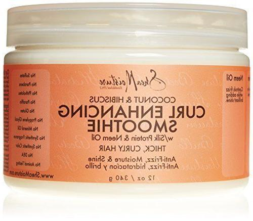 Shea Moisture Coconut and Hibiscus Curl Enhancing Smoothie,