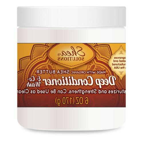 Simply Shea Deep Conditioner & Co-wash with Organic Shea But