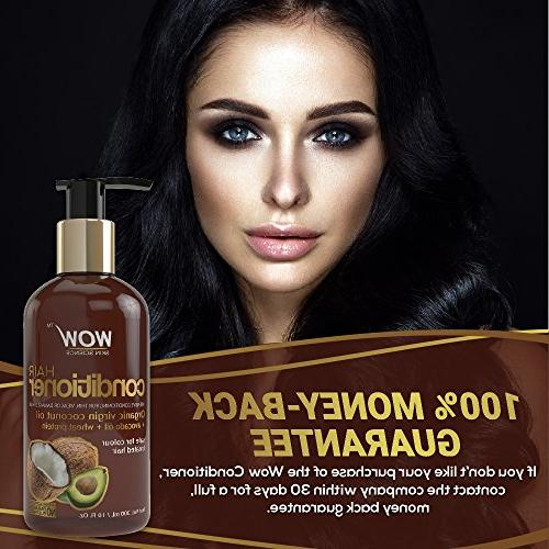 WOW Hair Deep Hair Dry & Hair - Enriched with Coconut, Argan Jojoba - E Sulfate Free - Fl Oz