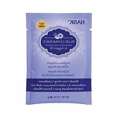 argan blonde care deep conditioner packette 1