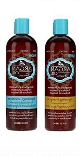 Hask Argan Oil From Morocco Repairing Shampoo & Conditioner