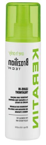 One N Only Brazilian Tech Keratin Leave-In Treatment 8oz