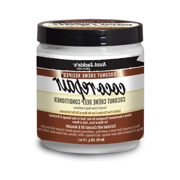 Aunt Jackie's Coco Repair Coconut Creme Deep Conditioner Cur