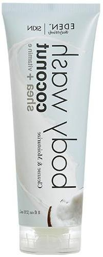 EDEN BodyWorks Coconut Shea Body Wash , 8oz