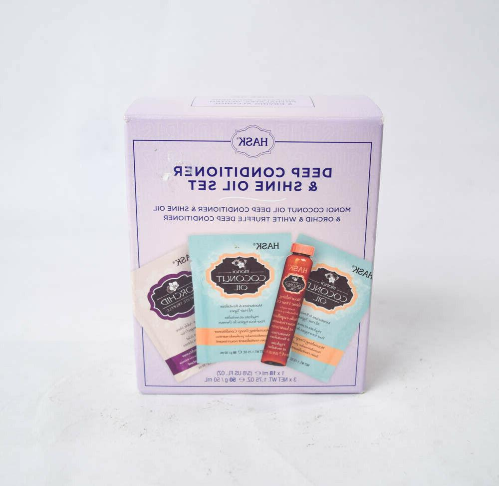 deep conditioner and shine oil set 4pc