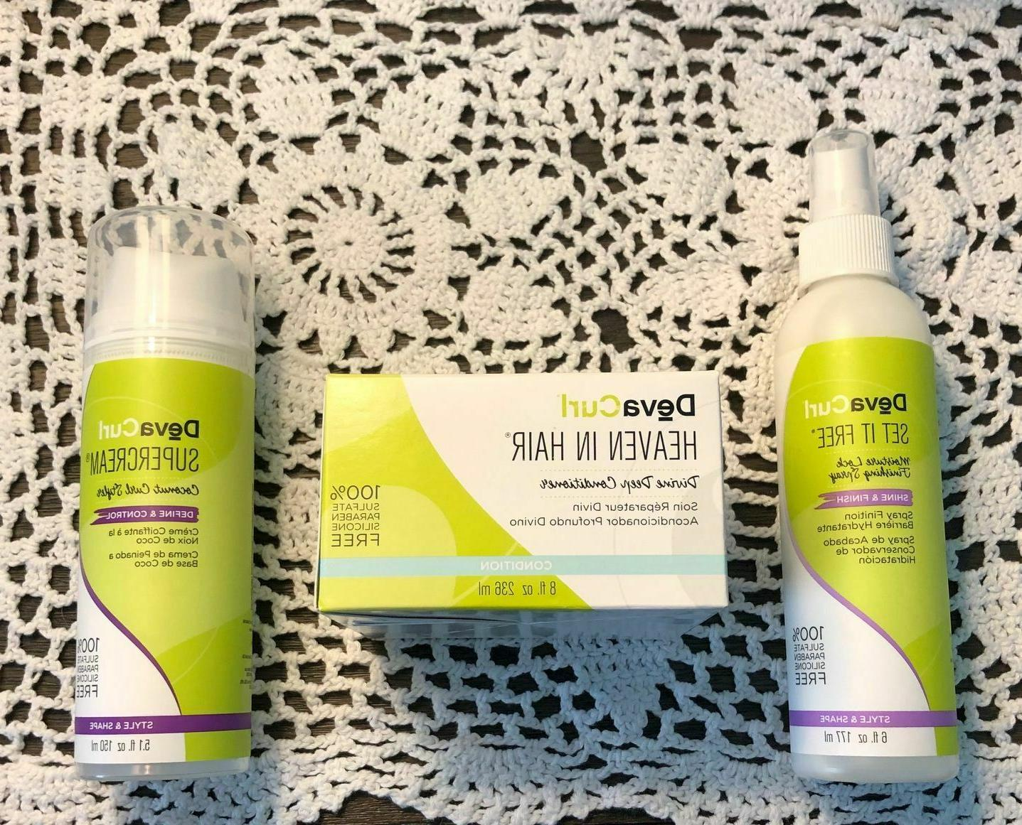 diva curl 3 products set free heaven